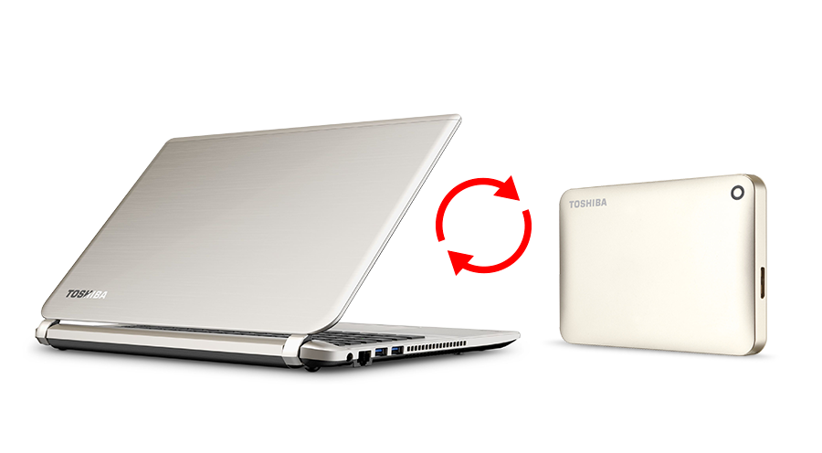 Toshiba - Portable Hard Drives - Canvio Connect II