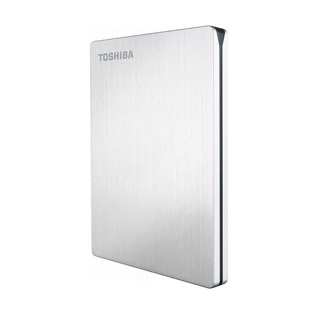 Toshiba - Portable Hard Drives - Canvio Slim for Mac