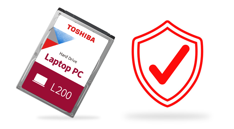 Toshiba L200 Laptop Internal Hard Drive 9