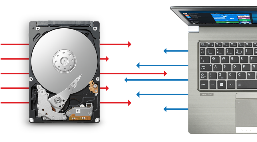 Toshiba - Internal Hard Drives - L200
