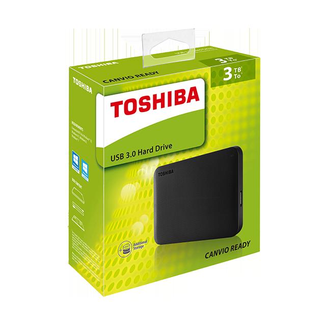Toshiba - Portable Hard Drives - Ready for Mac - Packshot