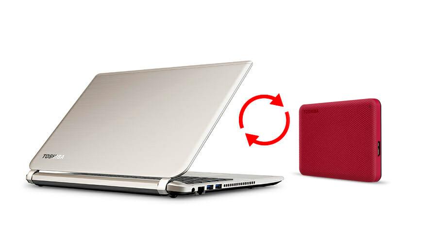 Toshiba Canvio Advance External Hard Disk 8