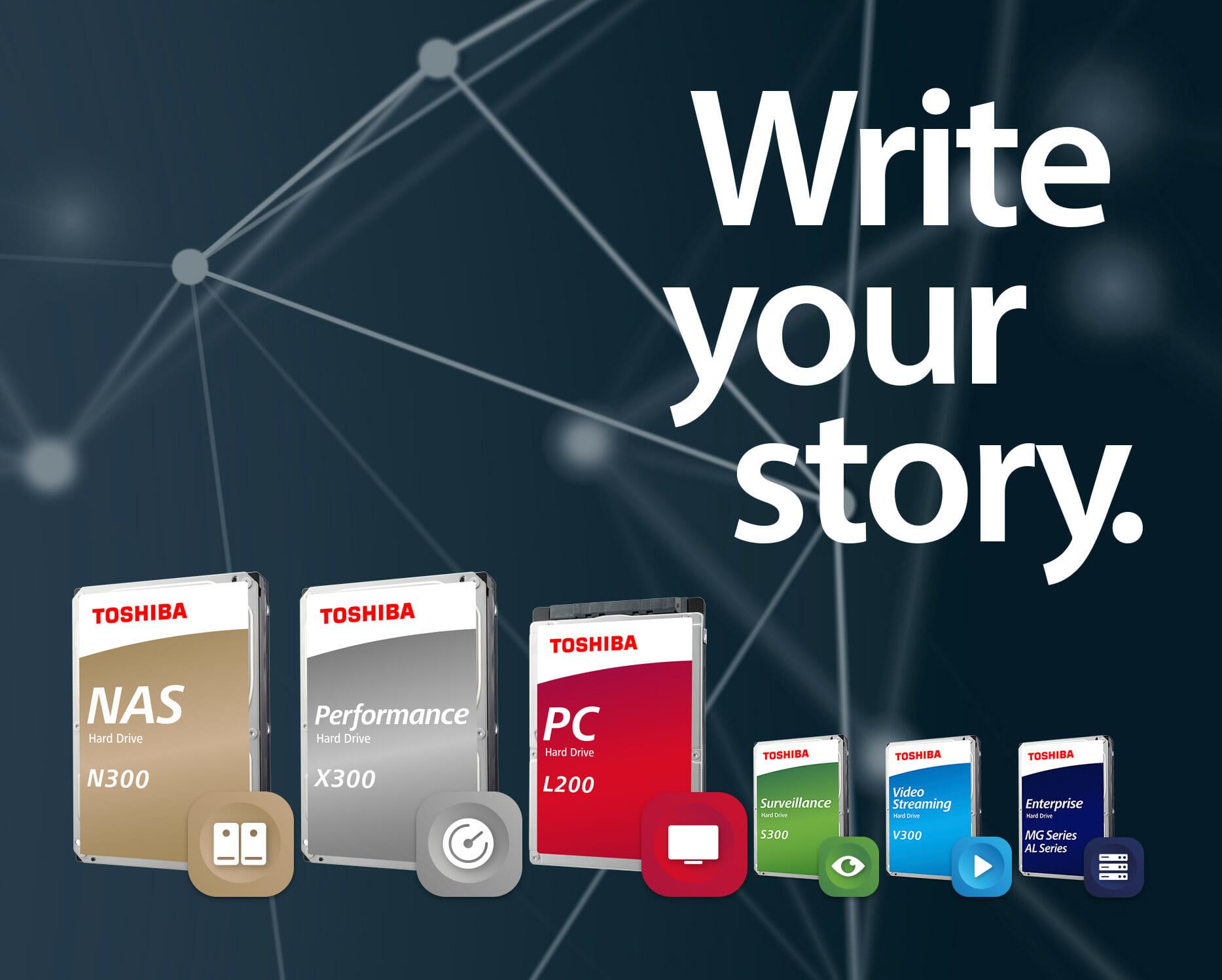 Image result for Toshiba HDD SSD SAS NAS