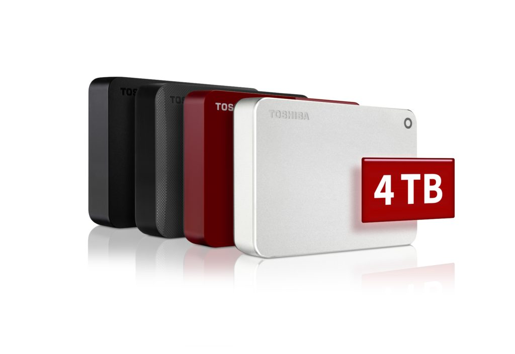 Toshiba - Portable Hard Drives - 4TB Canvio
