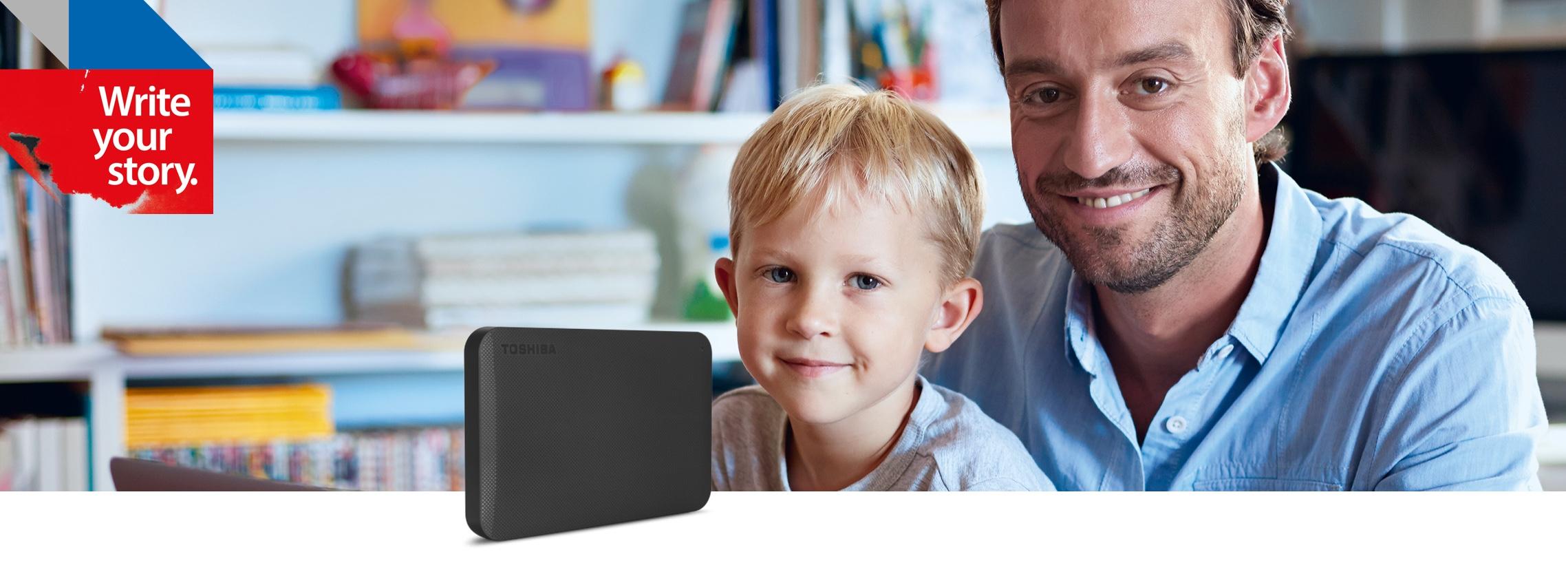 Toshiba - Portable Hard Drives - Canvio Basics