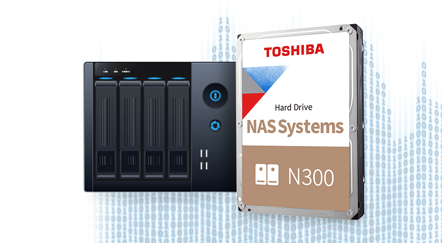 Toshiba N300 NAS Hard Drive 9