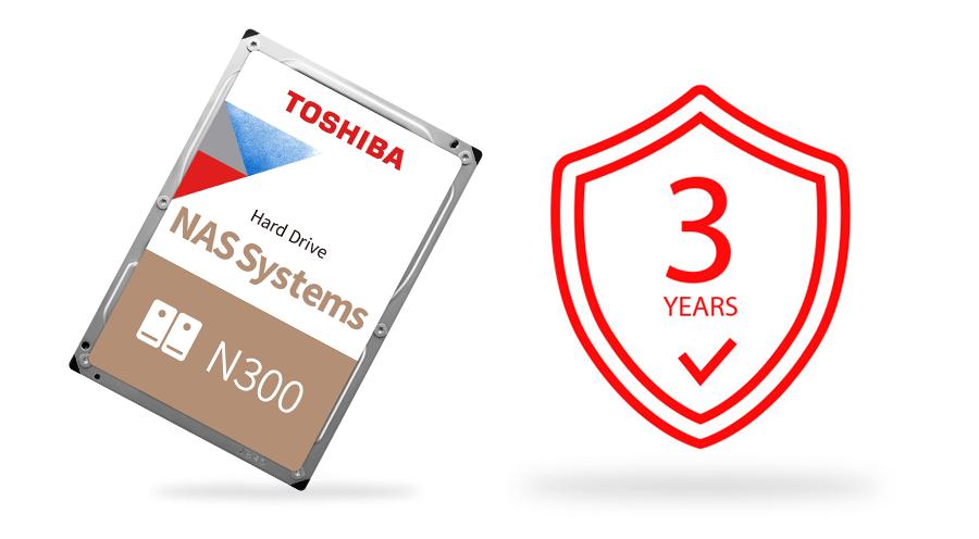 Toshiba N300 NAS Hard Drive 12