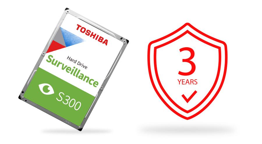Toshiba S300 Surveillance Hard Drive 9