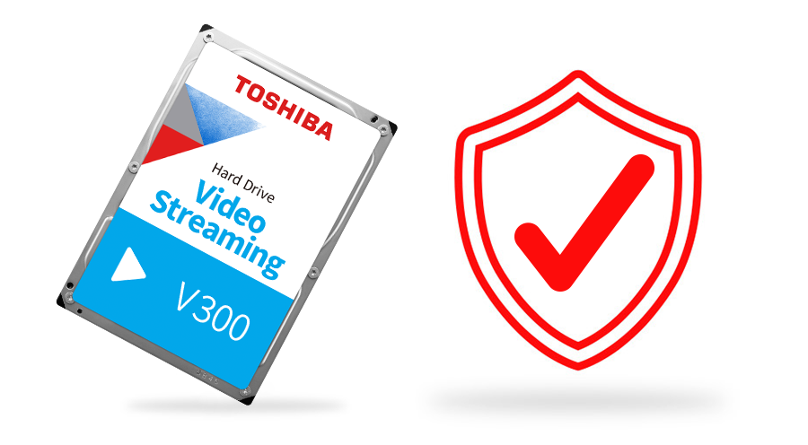 Toshiba V300 Video Streaming Hard Drive 8