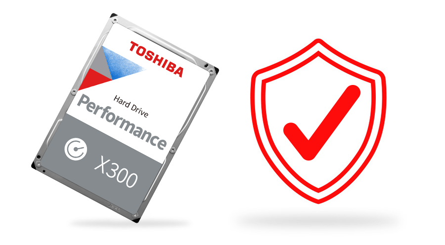 Toshiba X300 Performance Hard Drive 10