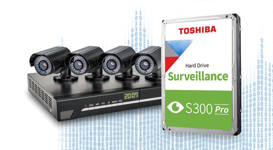 Toshiba S300 Pro Surveillance Hard Drive 5